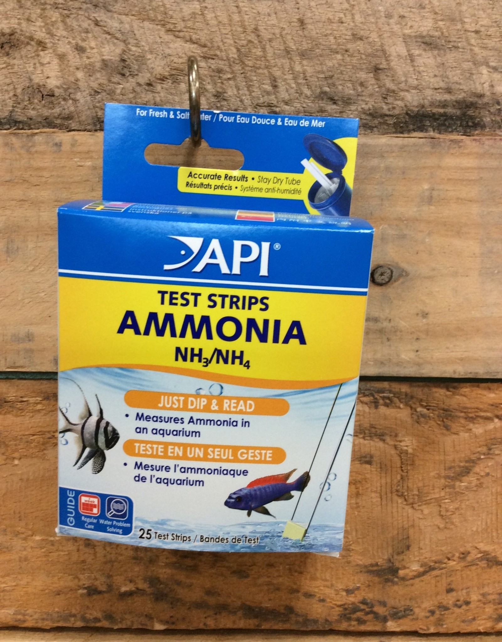 Api - Mars Fish Care API Test Strip Ammonia - 25ct