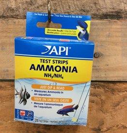 Api - Mars Fish Care API 25 CT. AMMONIA AQUARIUM TEST STRIPS