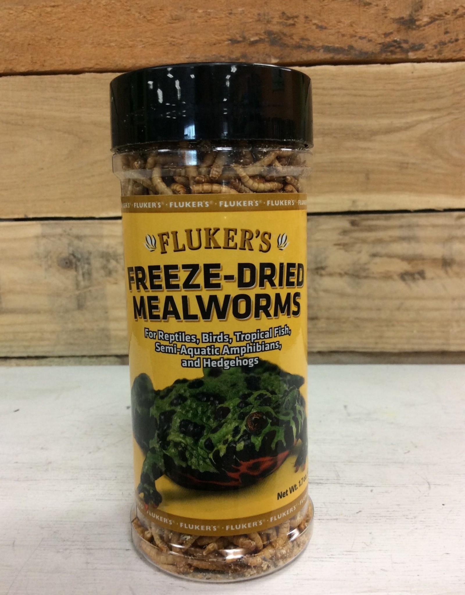 Fluker's Freeze Dried Mealworms 1.7oz