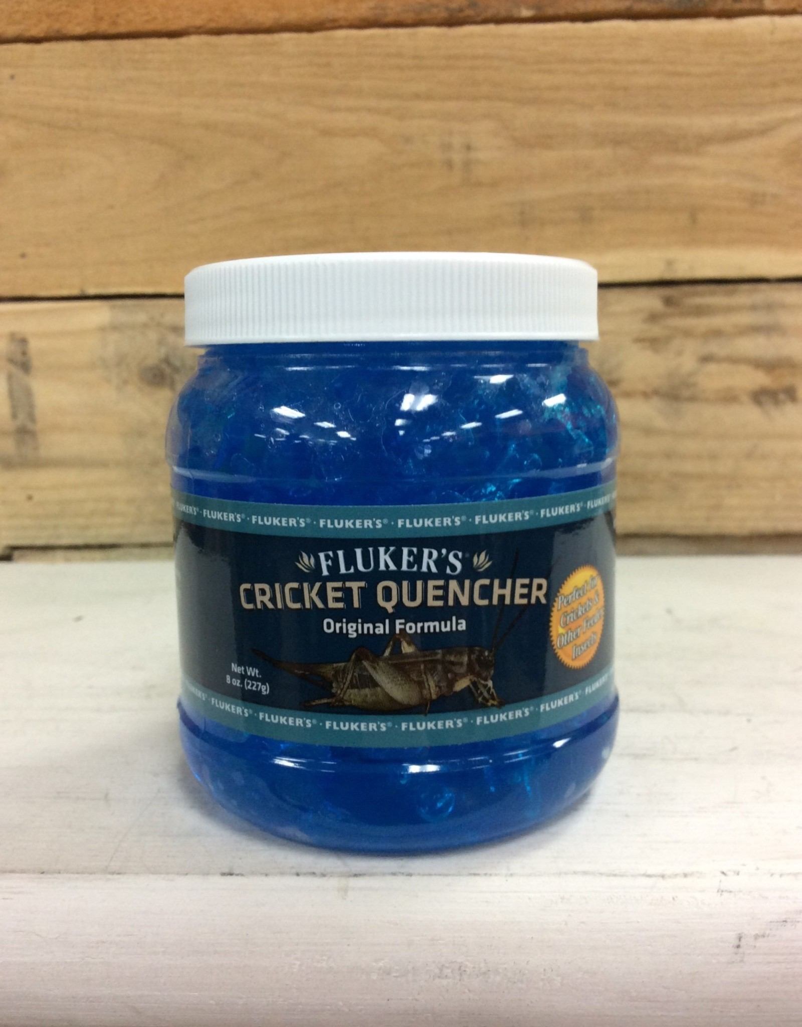 Fluker Cricket Quencher Original Formula 8oz.