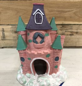 Blue Ribbon Pets Blue Ribbon Pixie Pink castle