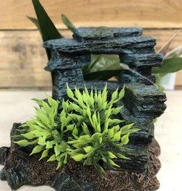 """Blue Ribbon Pets Blue Ribbon Rock Arch w/ Plants 5"""""""