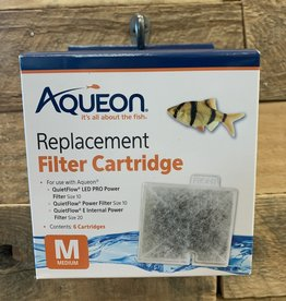 Aqueon Aqueon Med. Cartridge 6 pk.