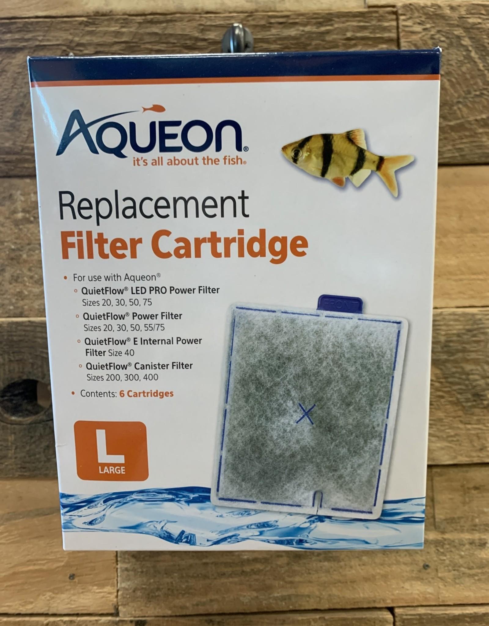Aqueon Aqueon  LG Cartridge 6 pk