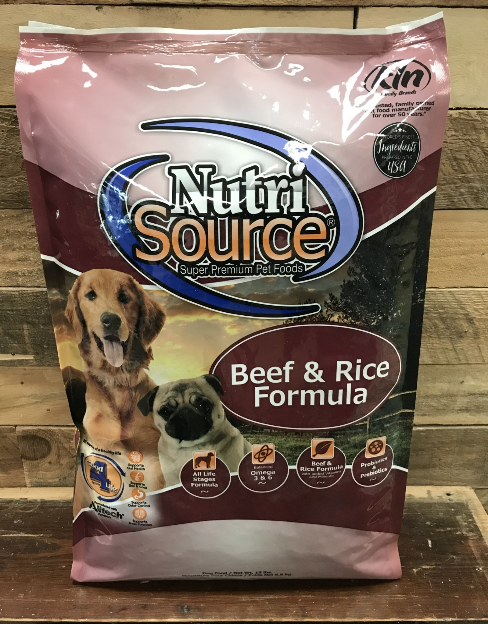 Nutrisource Nutrisource Beef & Rice -3 sizes