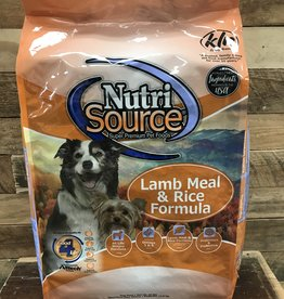 Nutrisource Nutrisource Lamb & Rice -3 sizes