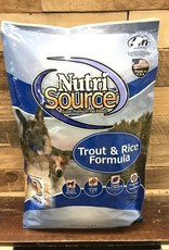 Nutrisource Nutrisource Trout & Rice -3 sizes