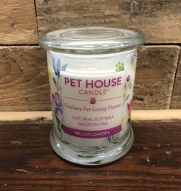 One Fur All One Fur All Candle Glass Jar WILDFLOWERS 8.5oz