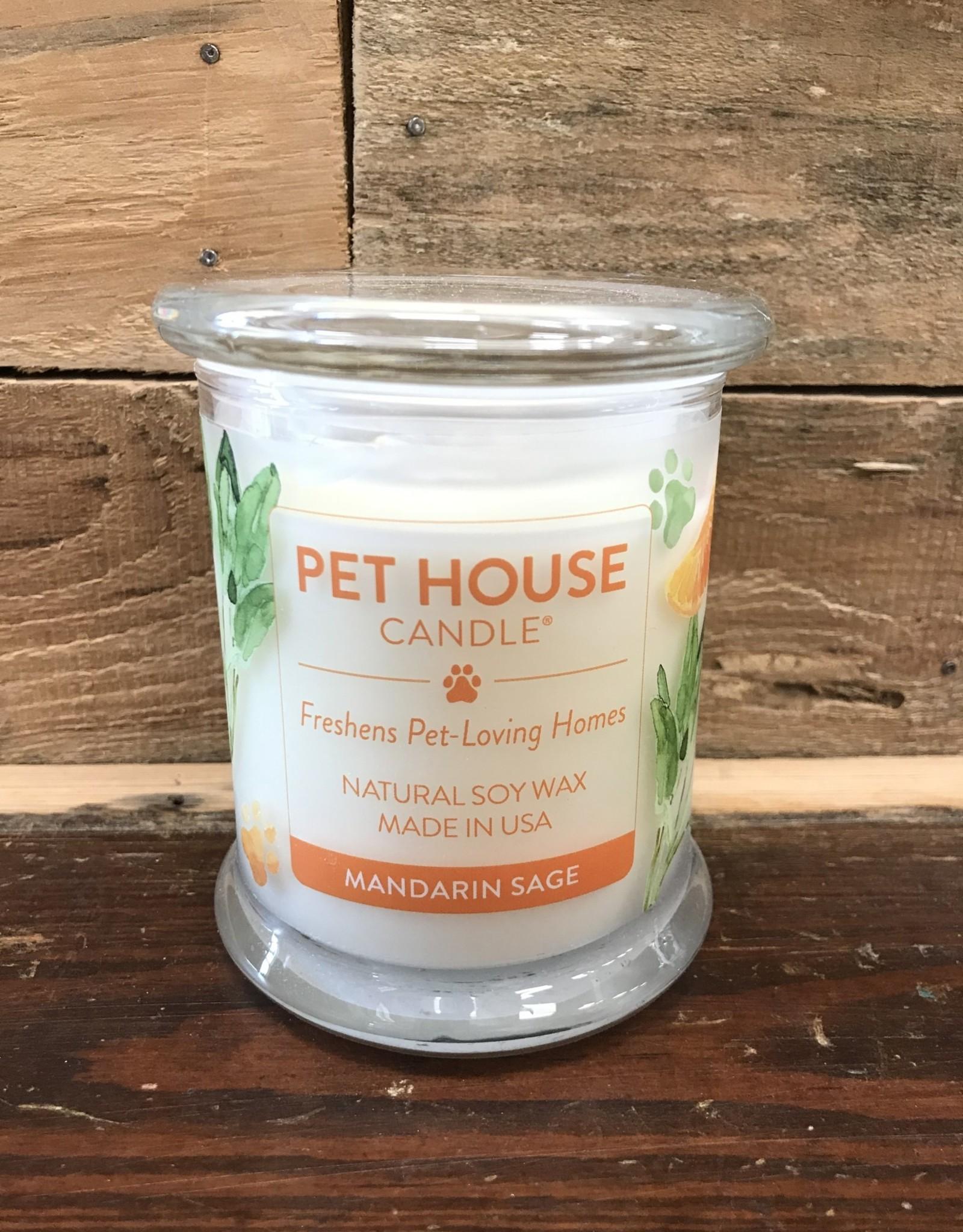 One Fur All One Fur All Candle Glass Jar MANDARIN SAGE 8.5oz