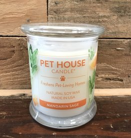 One Fur All One Fur All Candle Glass Jar MANDARIN SAGE 8.5oz