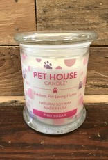 One Fur All One Fur All Candle Glass Jar Pink Sugar 8.5oz