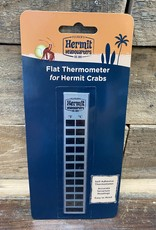 FLUKER FLAT THERMOMETER FOR HERMIT CRABS