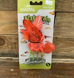 Hagen Marina Naturals Red Foreground Silk Plant