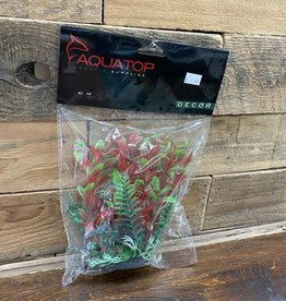 "Aquatop Aquatop HYGRO-LIKE W/WEIGHTED BASE BAG HEADER - GREEN/RED 6"""