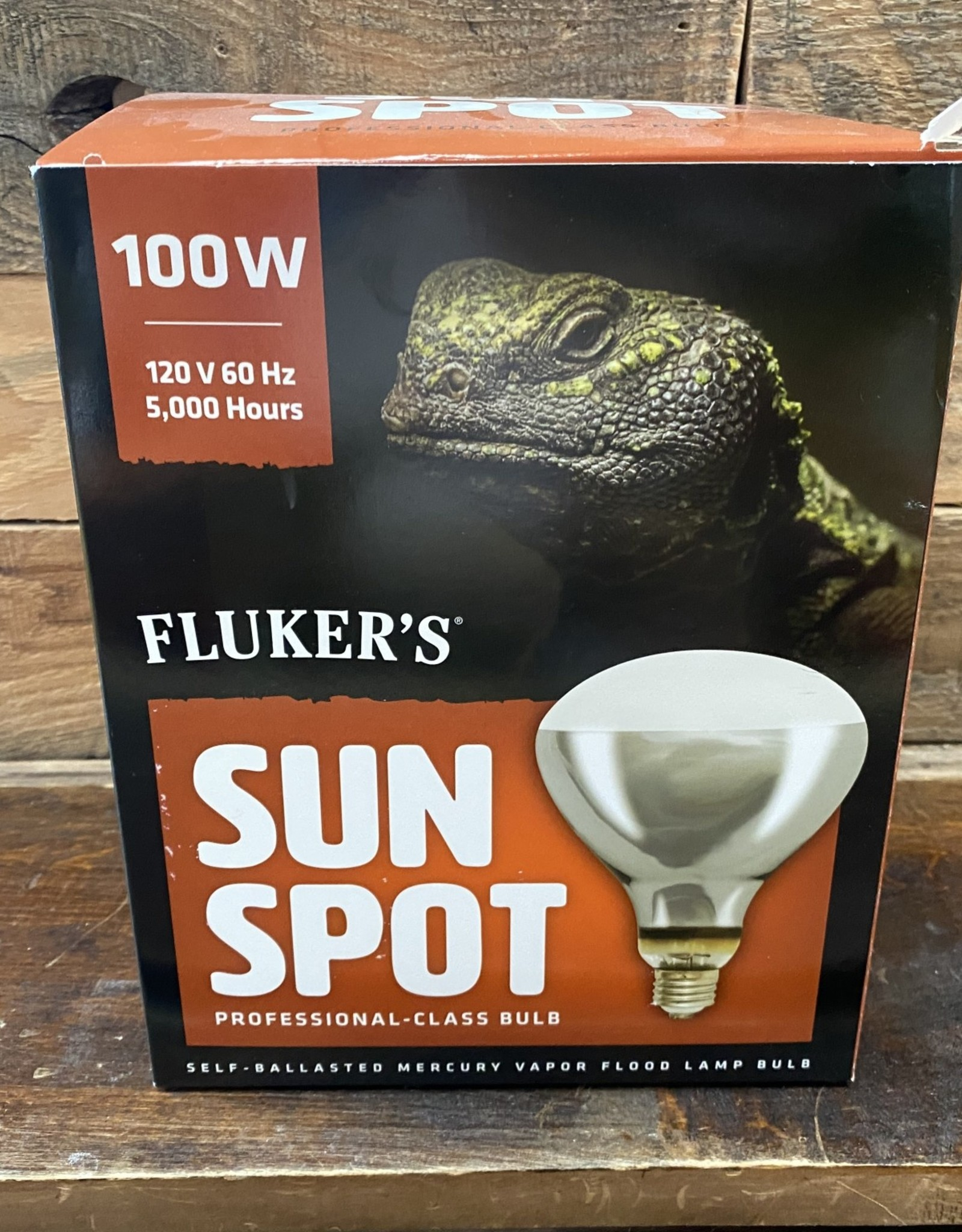 FLUKER FARMS 100 W. SUN SPOT BULB