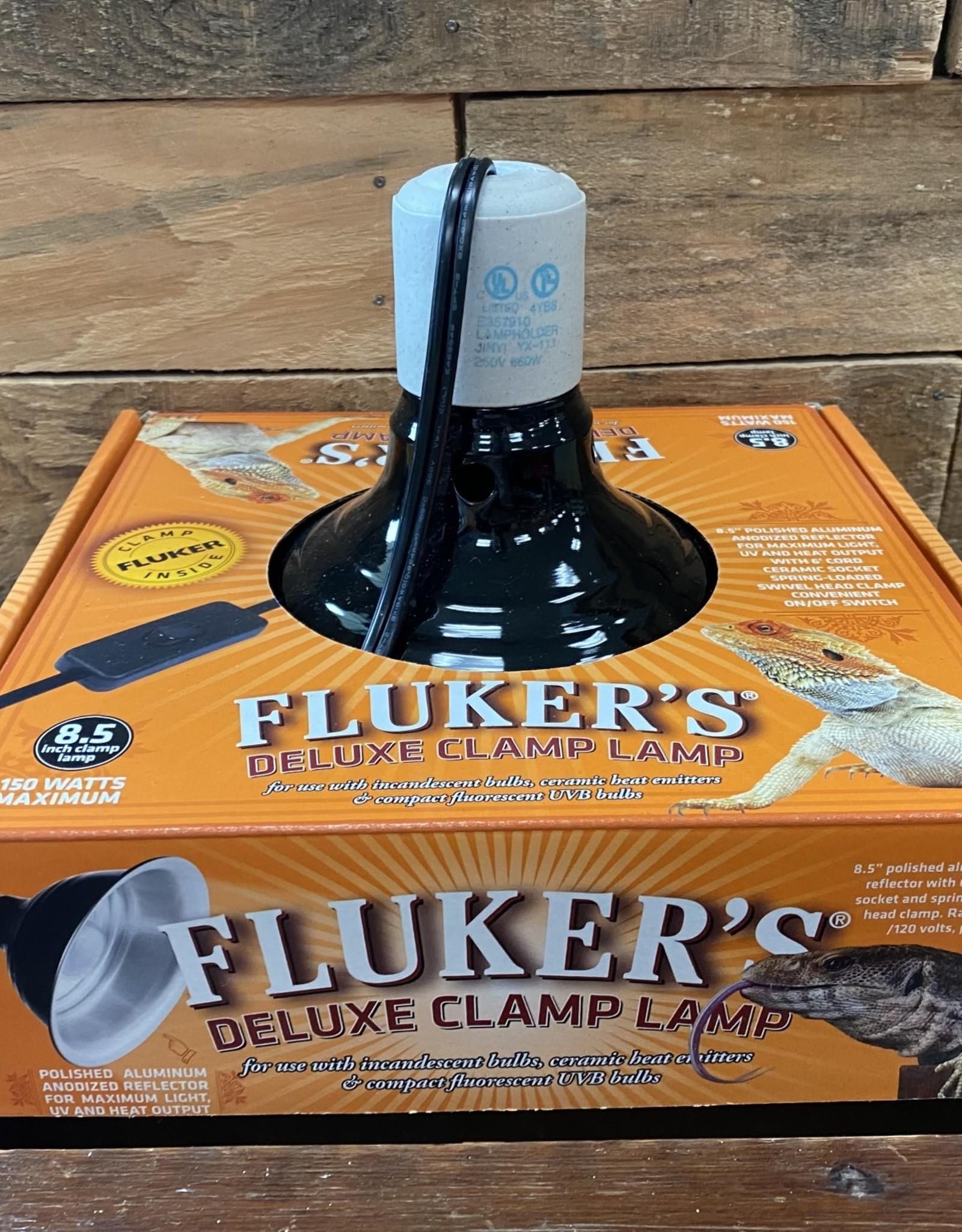 Fluker FARMS  8.5 IN. CLAMP LAMP W/SWITCH