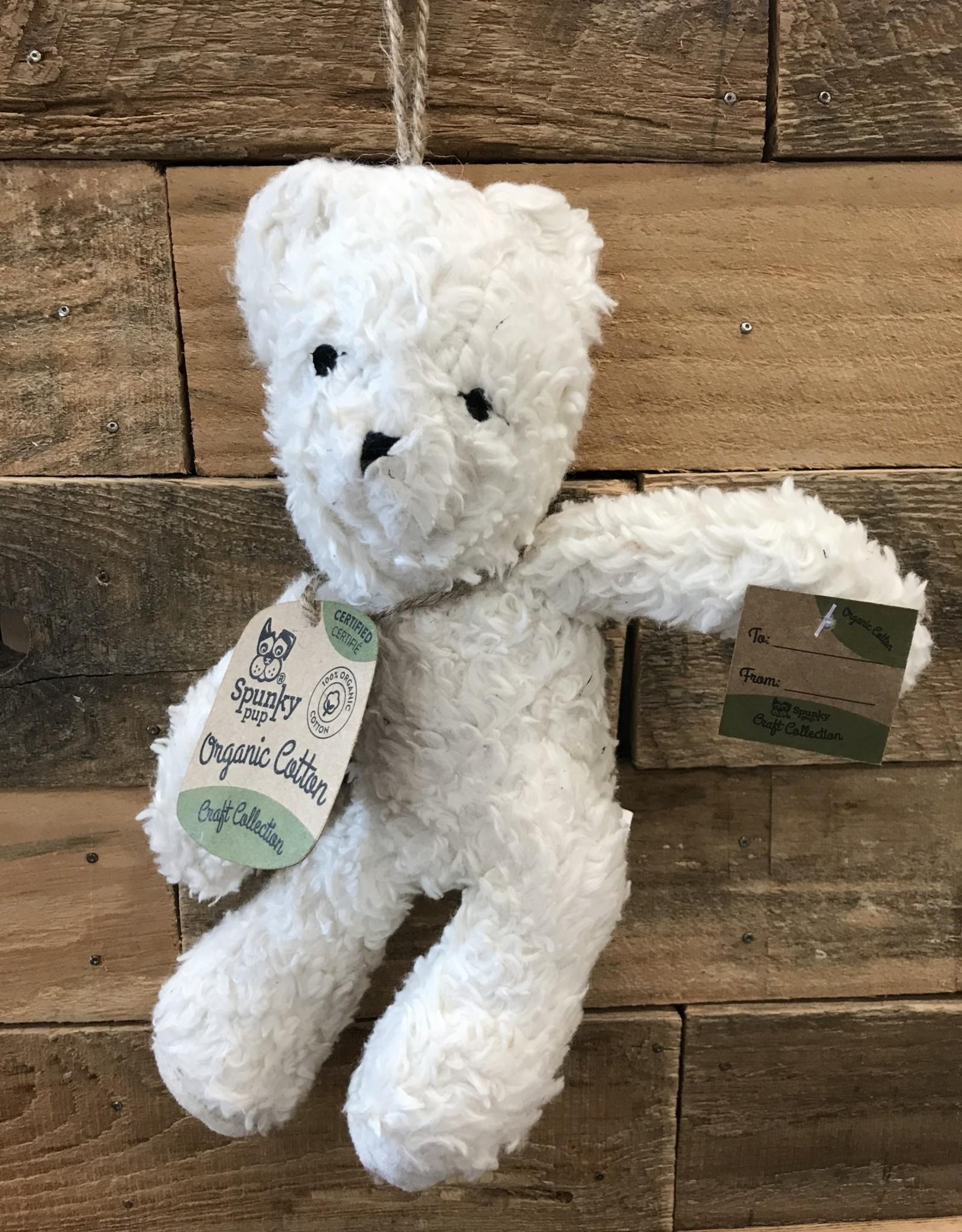 Spunky Pup Organic Cotton Bear - Assorted Large