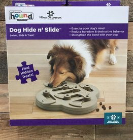 Outward Hound dog smart Hide-N-Slide Treat Puzzle composite