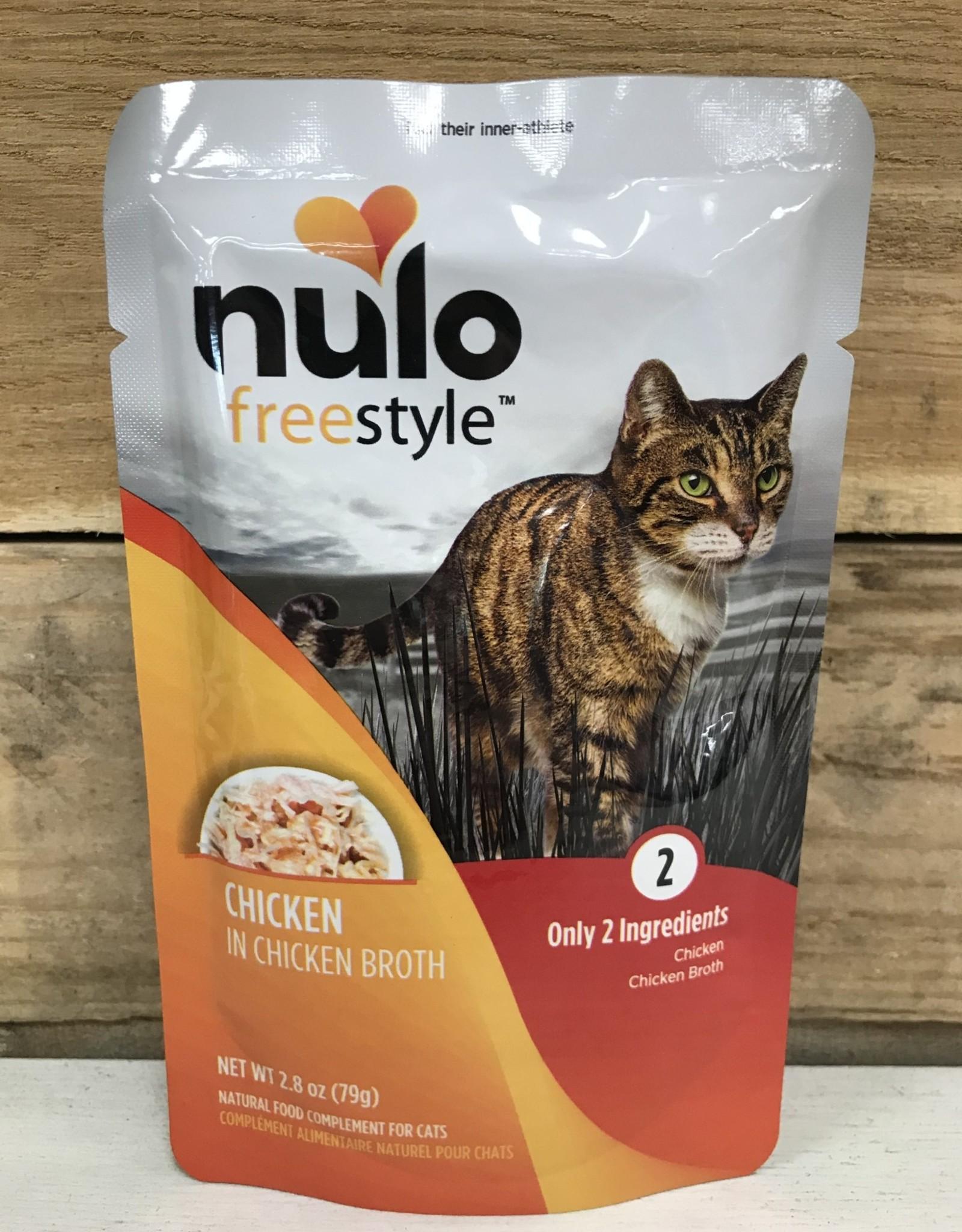 Nulo Nulo FreeStyle 2.8oz Grain Free Cat Chicken pouch