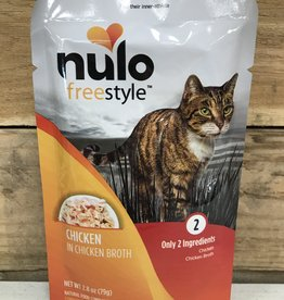 Nulo Nulo FreeStyle 2.8oz Grain Free Cat Chicken pouch