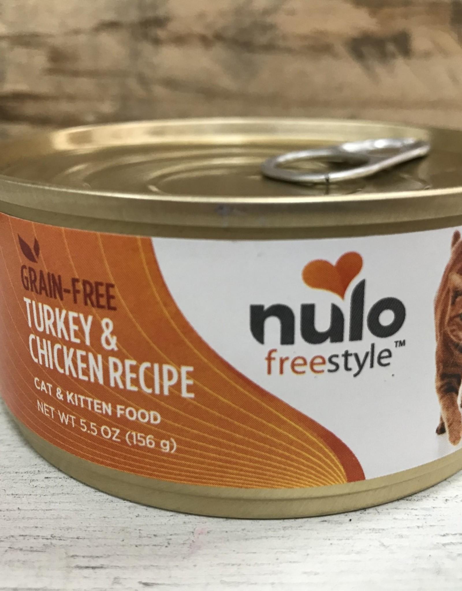 Nulo Nulo FreeStyle 5.5oz Grain Free Cat Turkey & Chicken