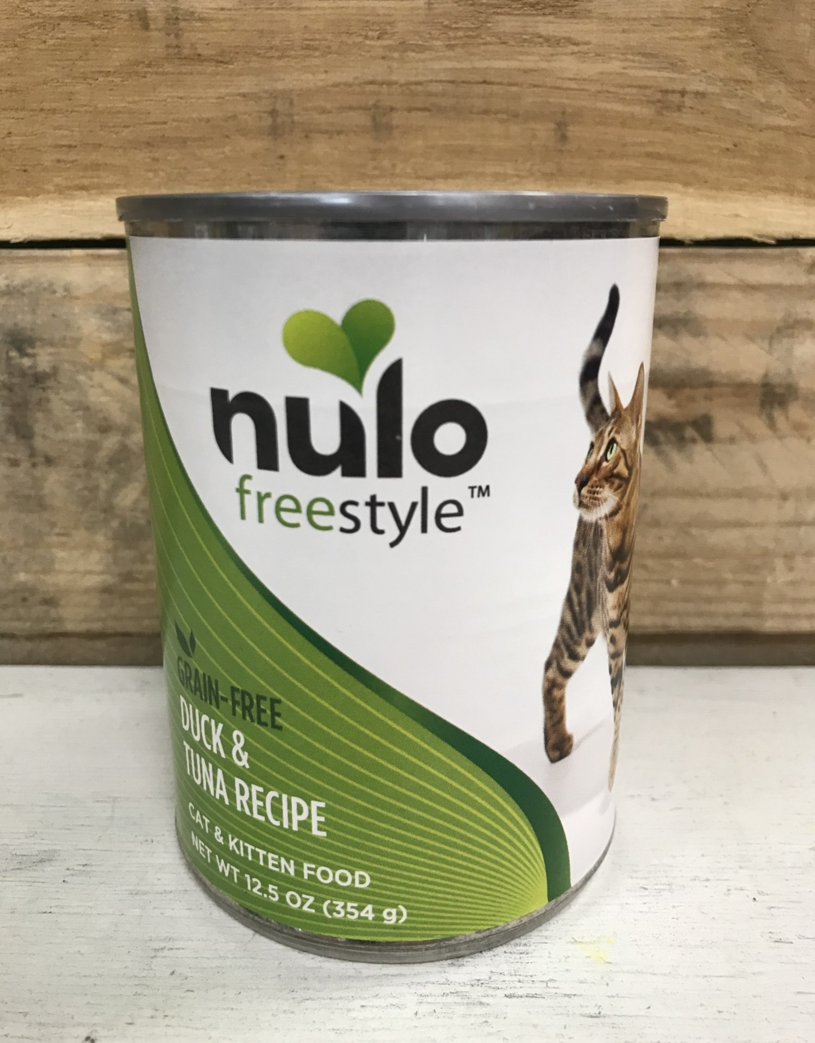 Nulo Nulo FreeStyle 12.5oz Grain Free Cat Duck & Tuna can