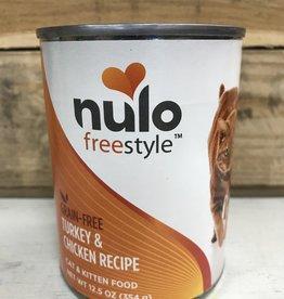Nulo Nulo FreeStyle 12oz Grain Free Cat Turkey & Chicken can