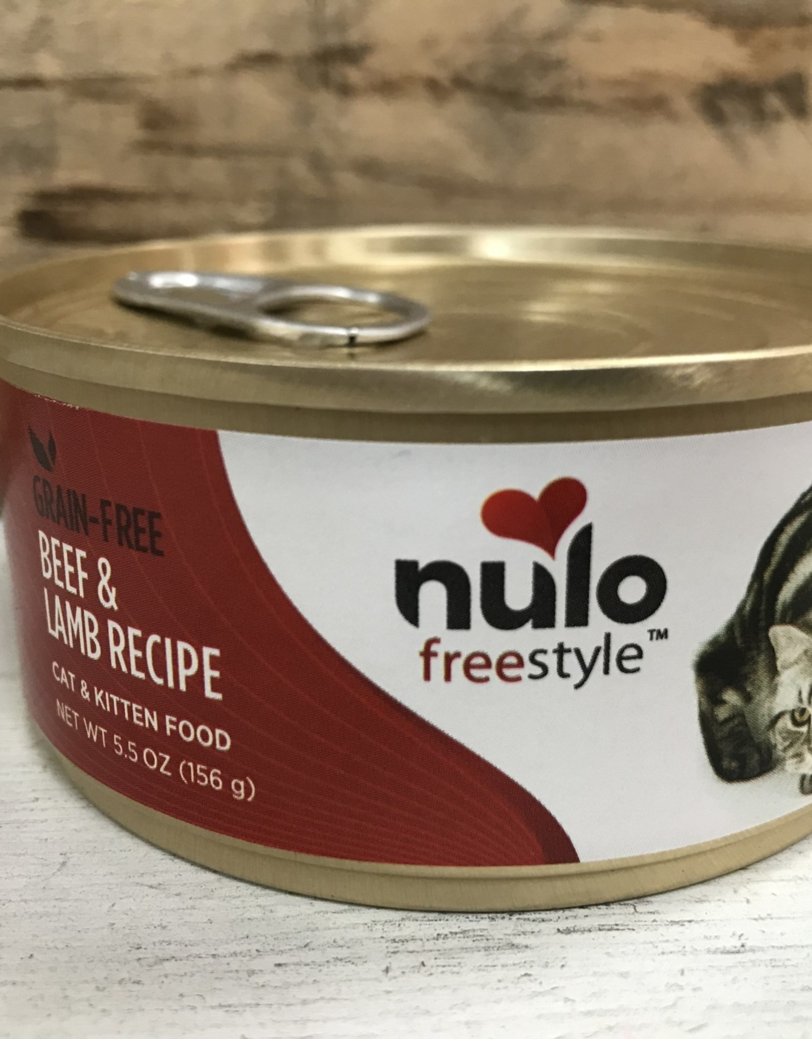 Nulo Nulo FreeStyle 5.5oz Grain Free Cat Beef & Lamb