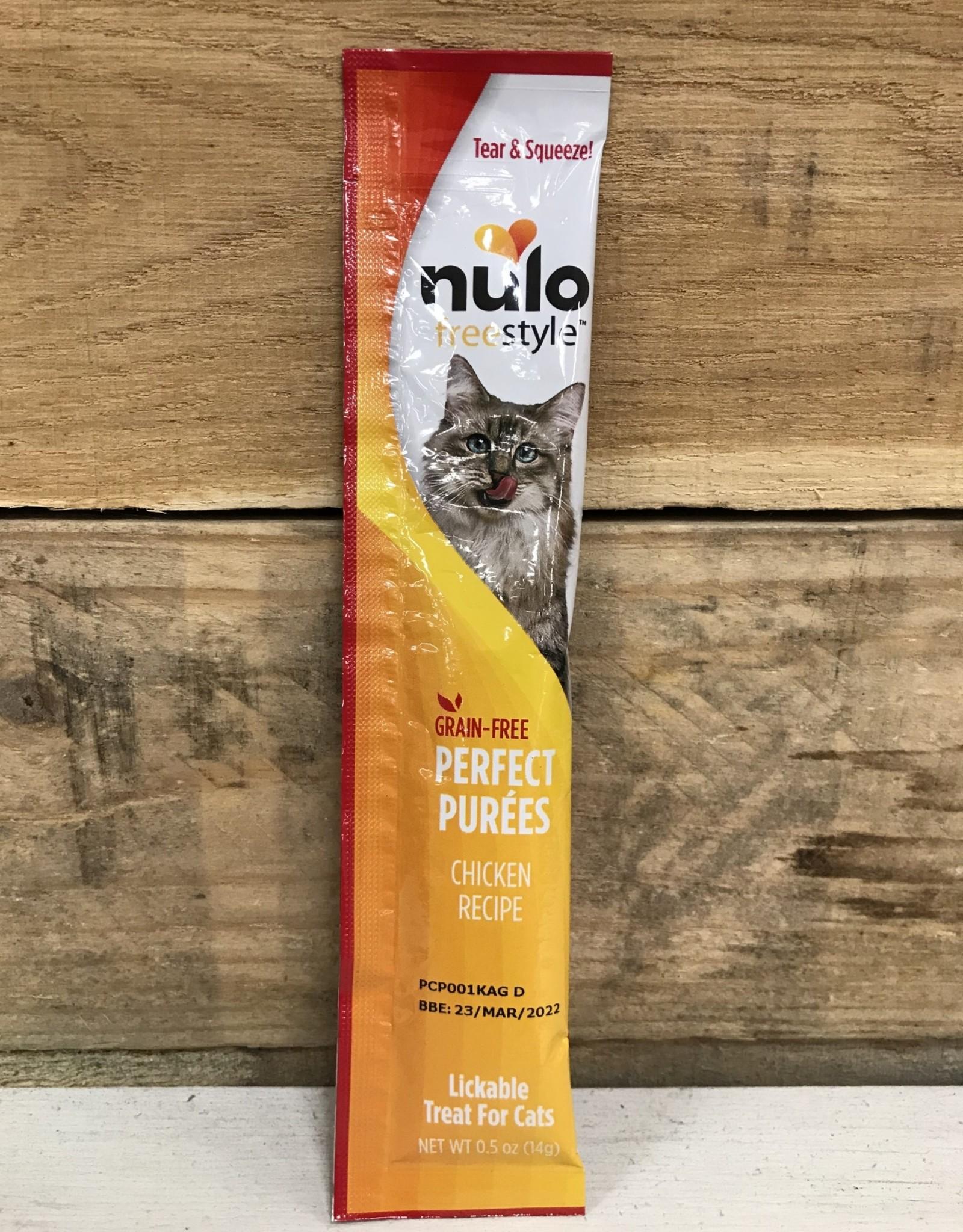 Nulo Nulo FreeStyle 5oz Grain Free Cat Chicken Puree Sachet treat