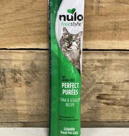 Nulo Nulo FreeStyle 5oz  Grain Free Cat Tuna & Scallop Puree Sachet treat