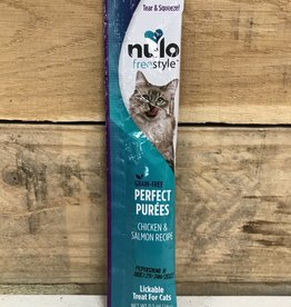 Nulo Nulo FreeStyle 5oz Grain Free Cat Chicken & Salmon Puree Sachet treat