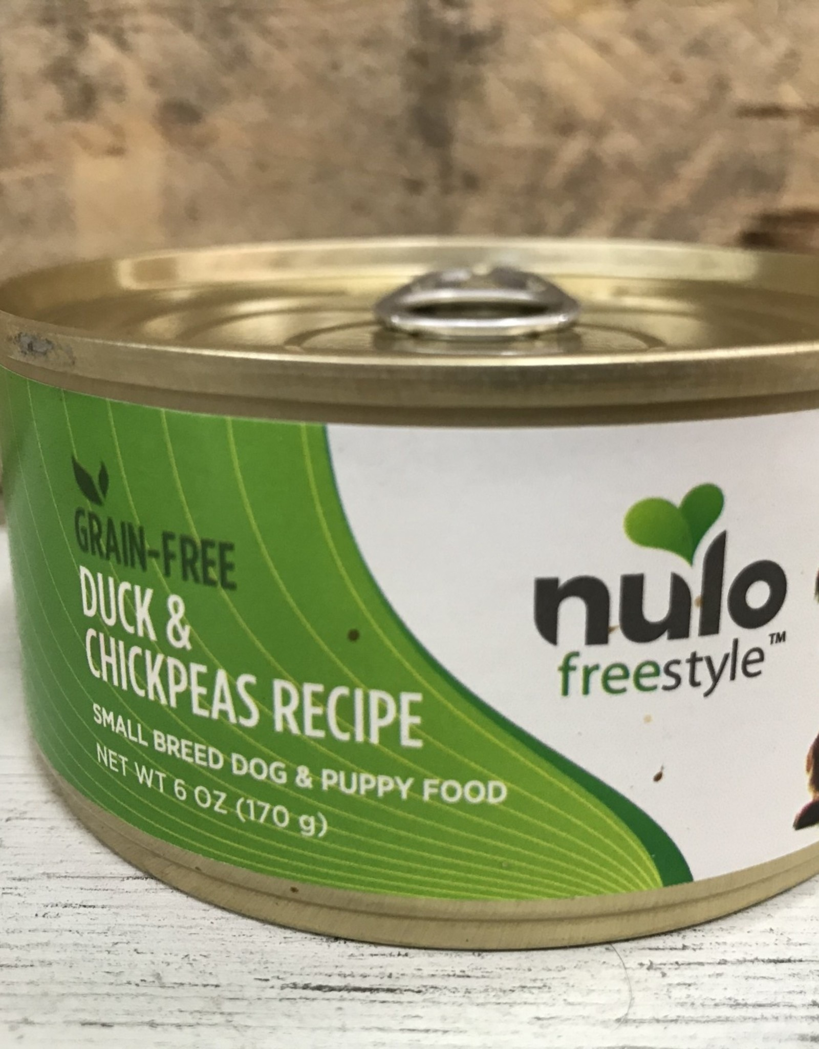 Nulo Nulo FreeStyle 6oz Grain Free Small Breed Dog Duck & Chickpea