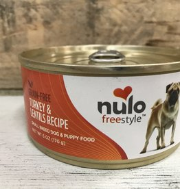 Nulo Nulo FreeStyle 6oz Grain Free Small Breed Dog Turkey & Lentil