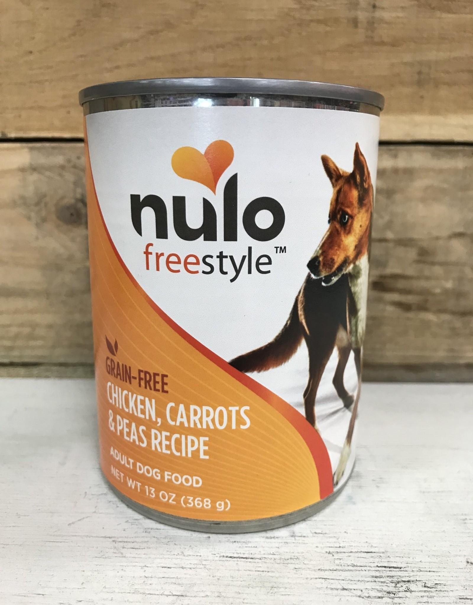 Nulo Nulo FreeStyle 13oz Grain Free Chicken, Carrots & Peas