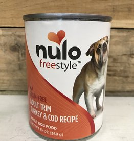 Nulo Nulo FreeStyle 13oz Grain Free Adult Trim Turkey & Cod