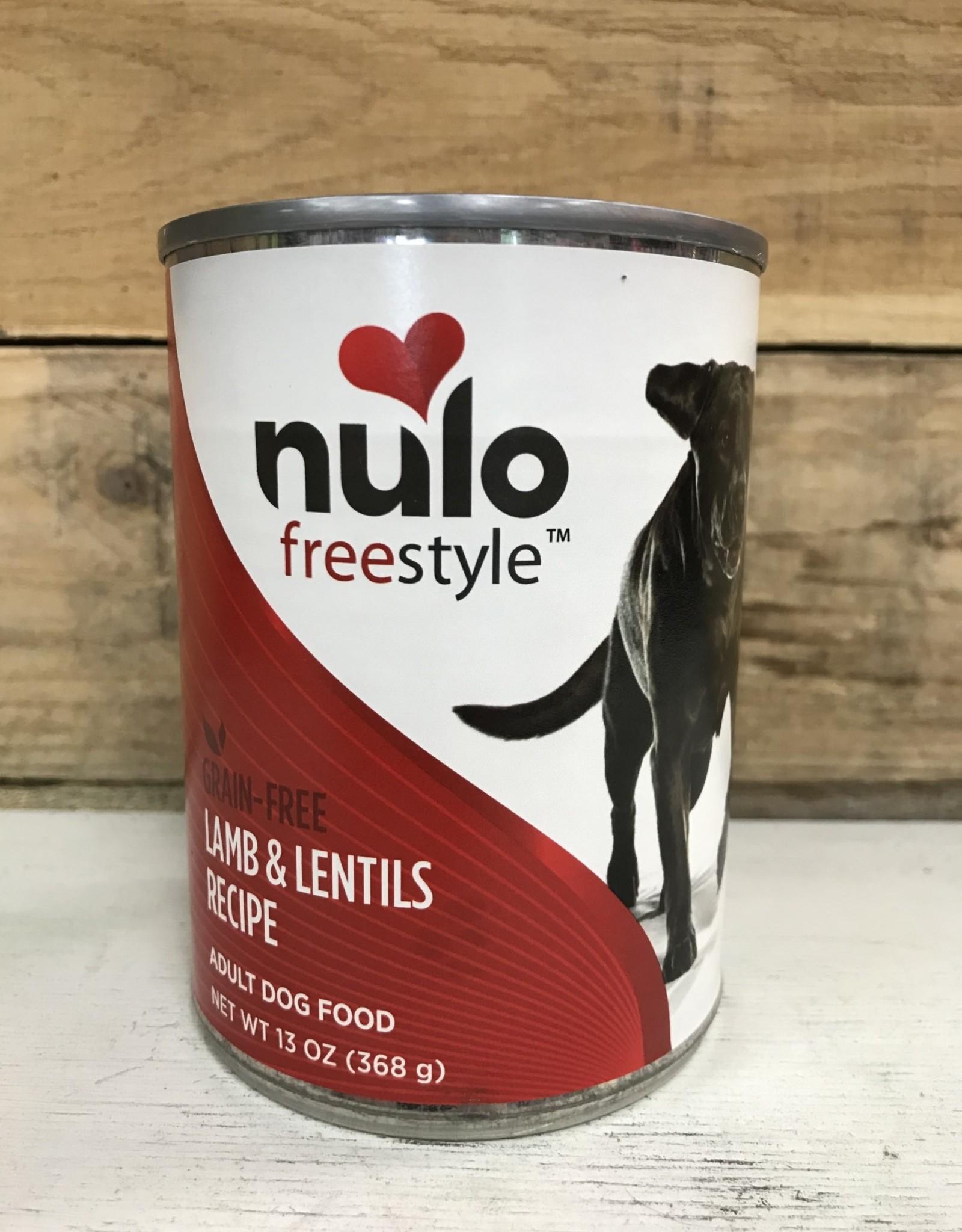 Nulo Nulo FreeStyle Grain Free Lamb & Lentils 13oz Can