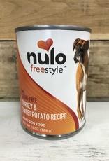 Nulo Nulo FreeStyle Grain Free Turkey & Sweet Potato 13oz can