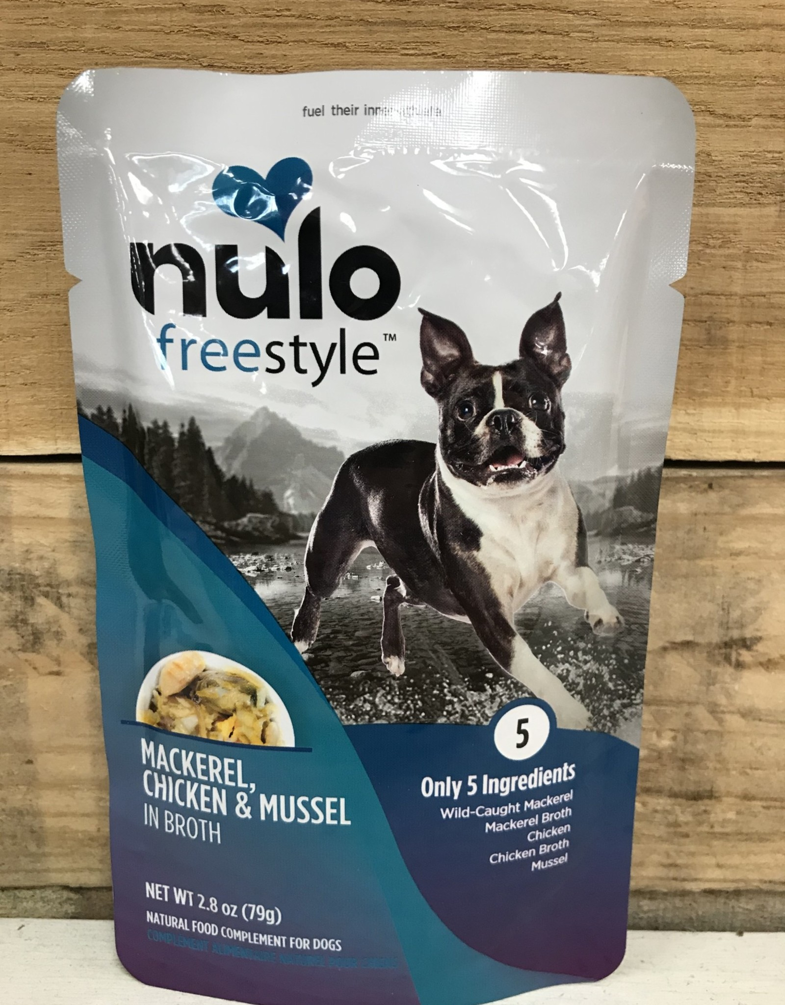 Nulo Nulo FreeStyle 2.8oz Grain Free Dog Mackerel, Chicken & Mussel