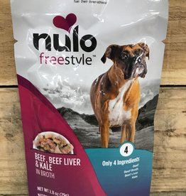 Nulo Nulo FreeStyle 2.8oz Grain Free Dog Beef, Beef Liver & Kale