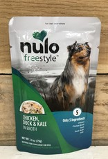 Nulo Nulo FreeStyle 2.8oz Grain Free Dog Chicken, Duck & Kale