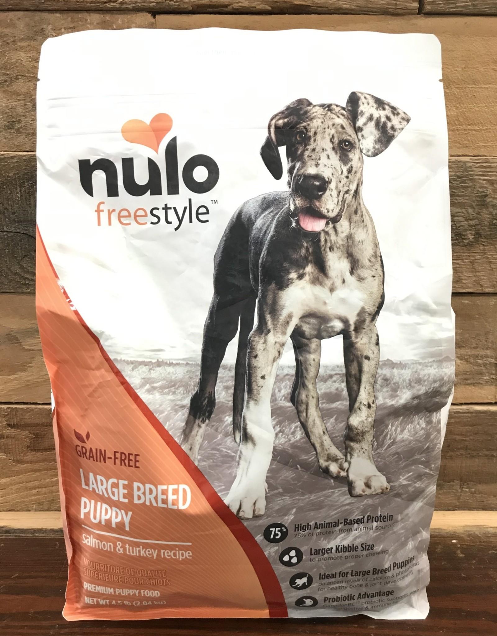Nulo FreeStyle 4.5# Grain Free Large Breed Puppy Salmon & Turkey