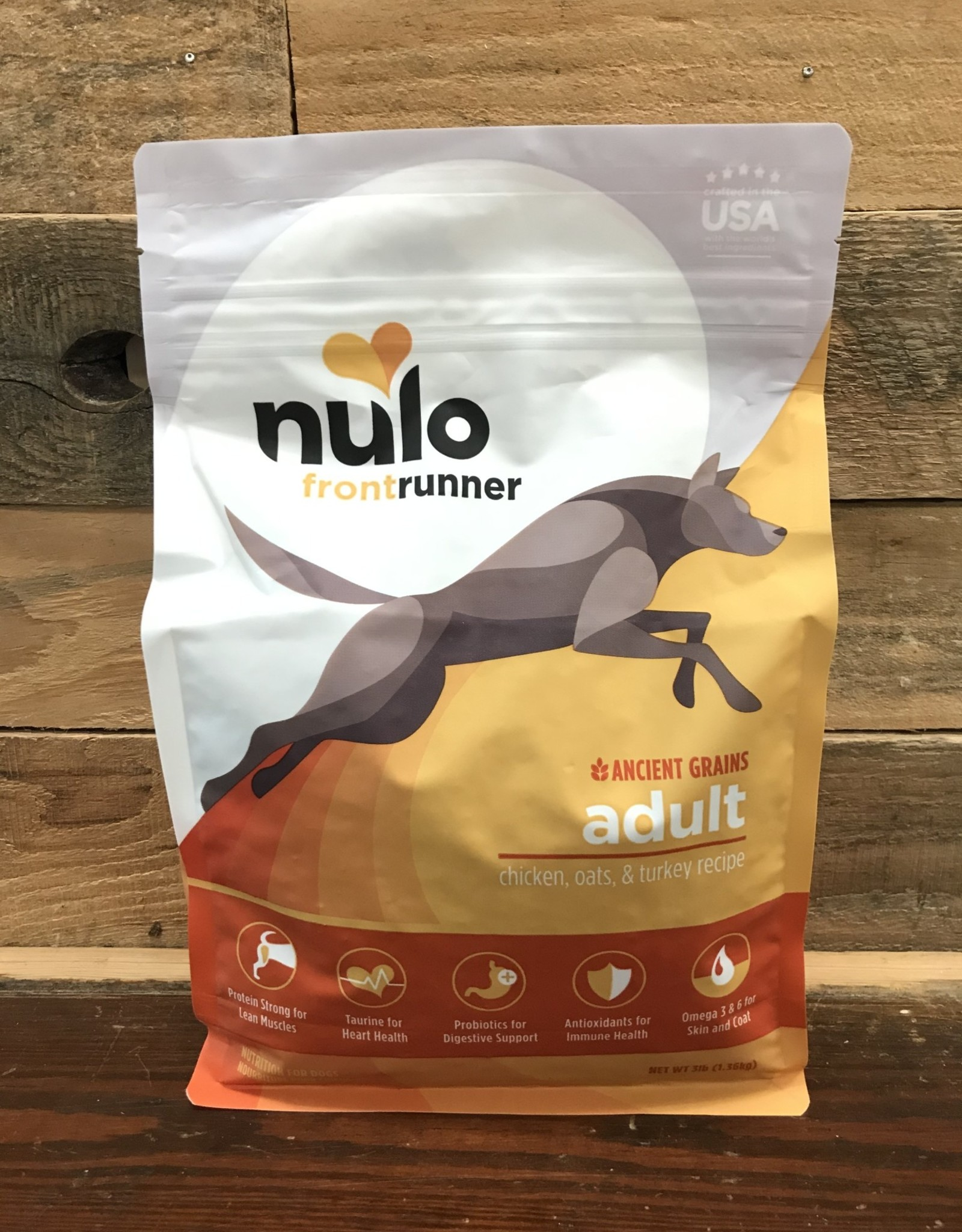 Nulo Nulo Frontrunner 3# Adult Dog Chicken, Oats & Turkey