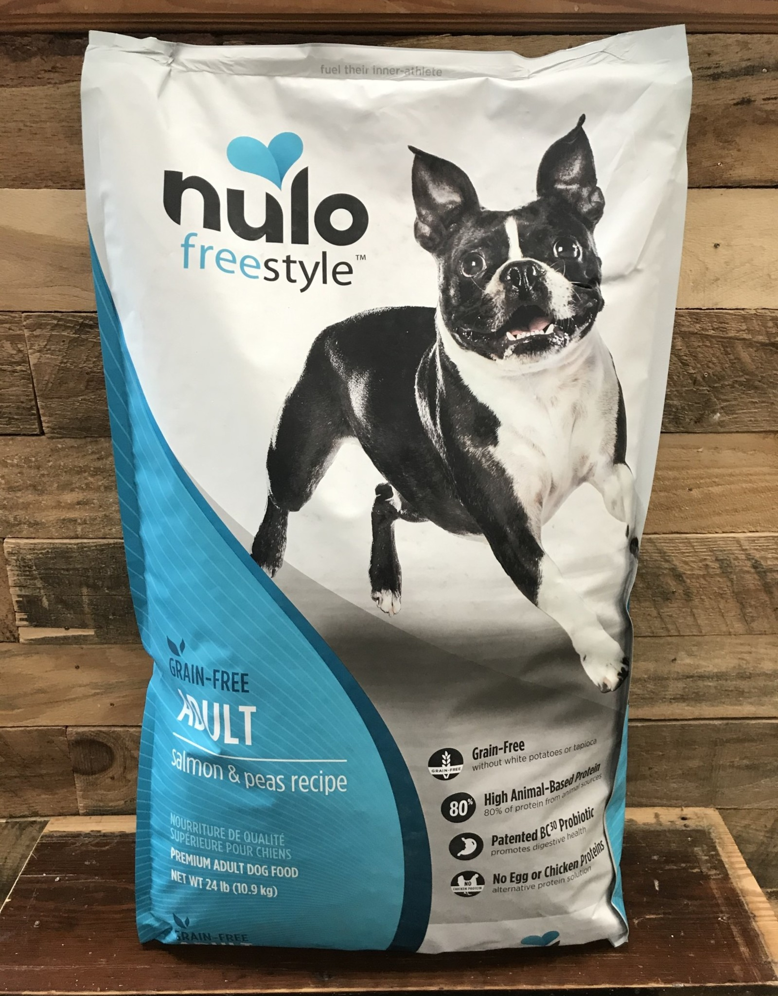 Nulo Nulo FreeStyle 24# Grain Free Adult Salmon & Peas