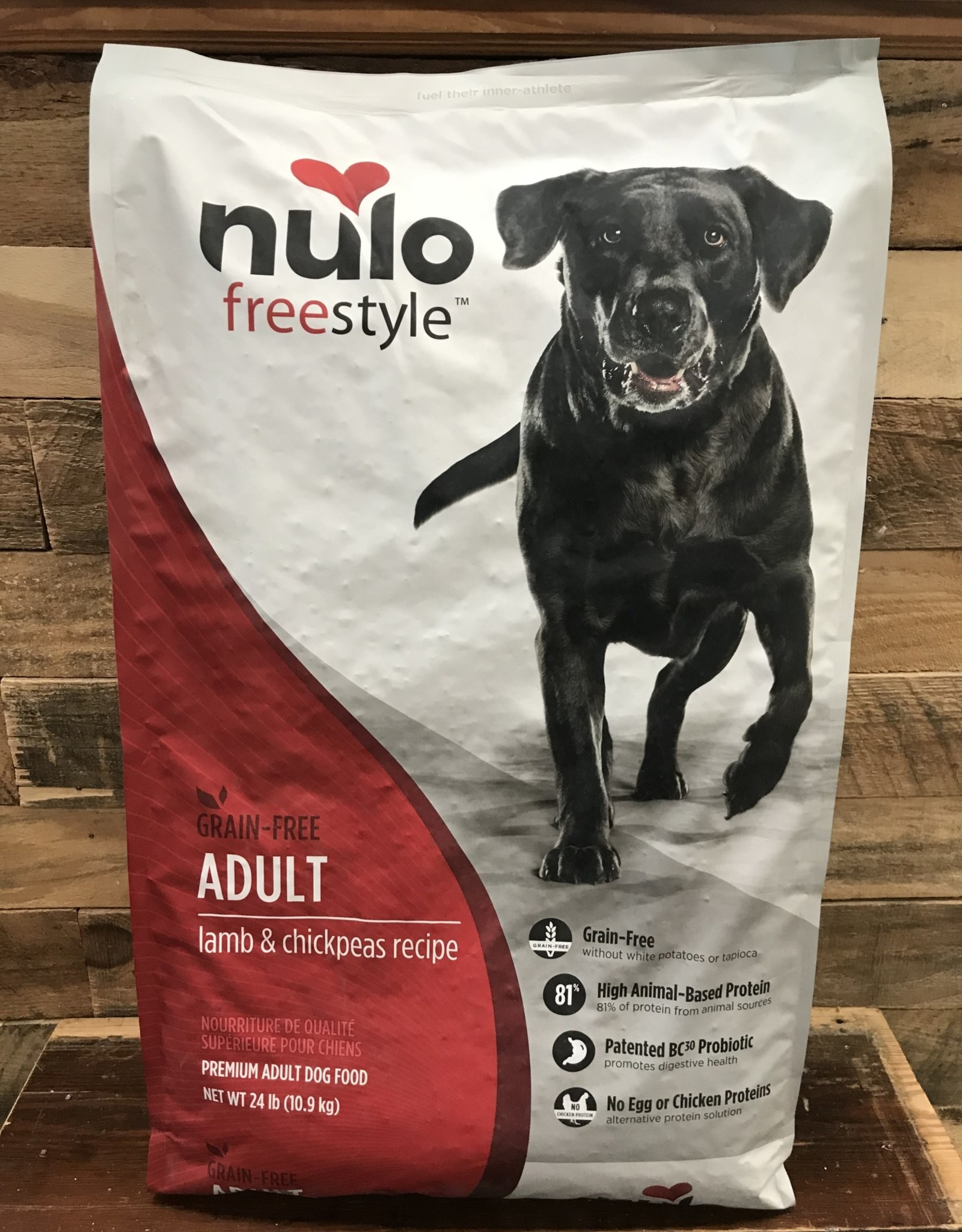 Nulo Nulo FreeStyle 24# Grain Free Adult Lamb & Chickpeas