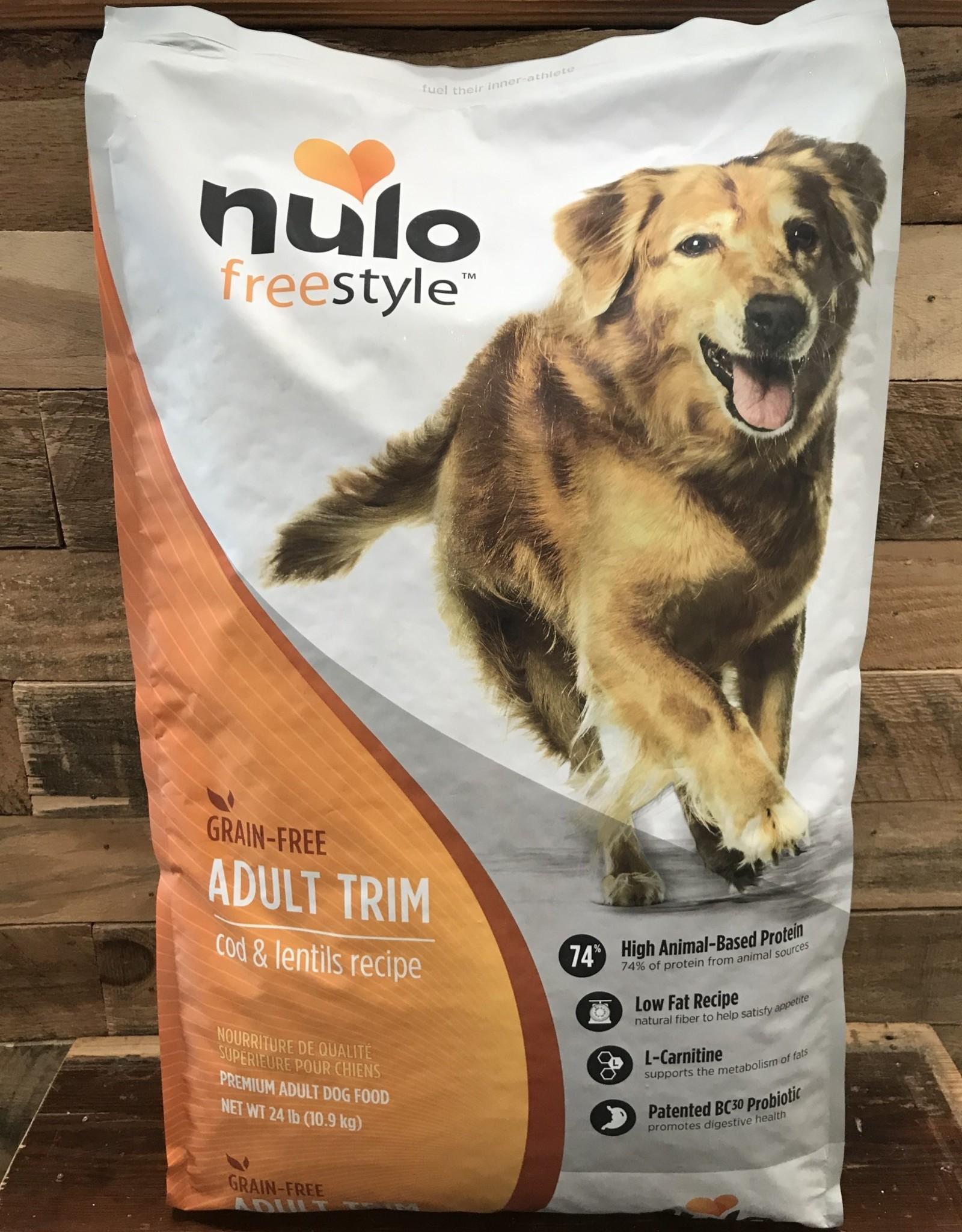 Nulo Nulo FreeStyle 24# Grain Free Adult Trim Cod & Lentils