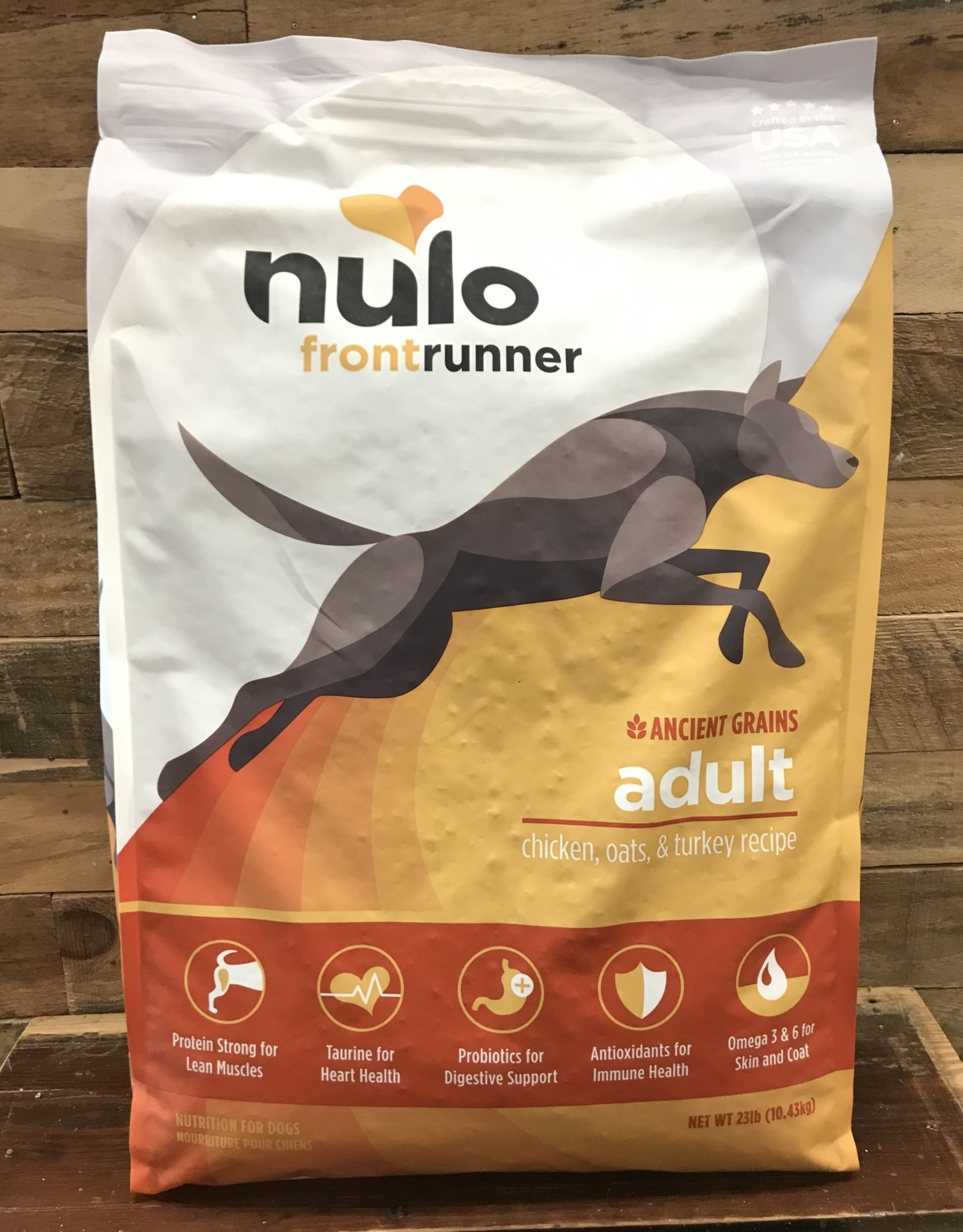 Nulo Nulo Frontrunner 23# Adult Dog Chicken, Oats & Turkey