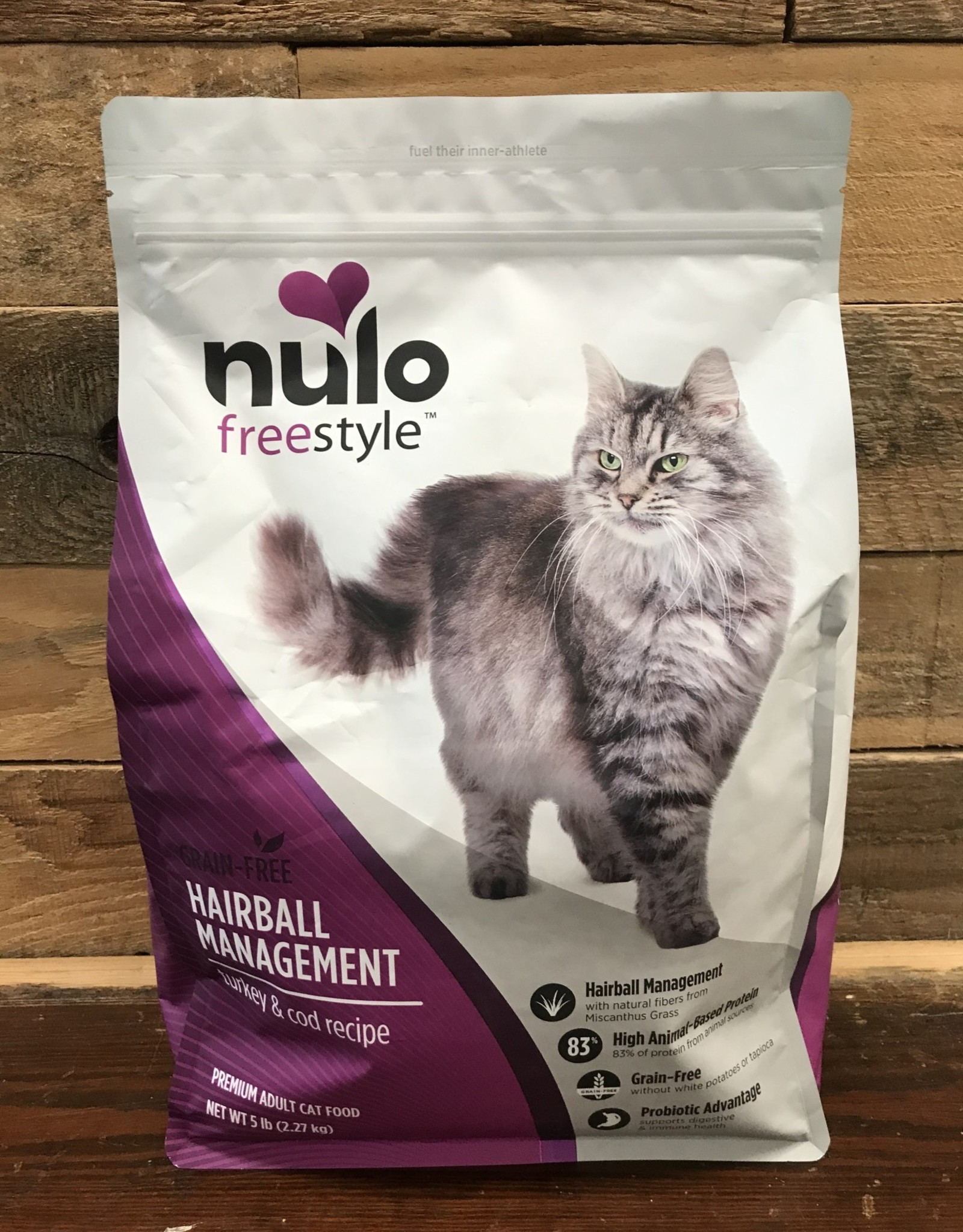 Nulo Nulo FreeStyle 5# Grain Free Hairball Management Turkey & Cod