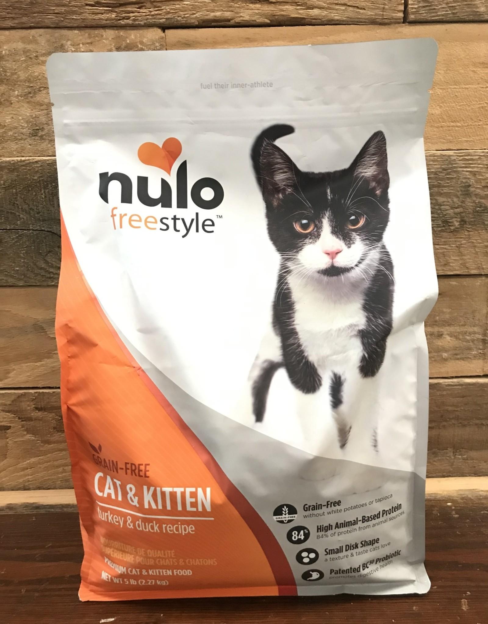 Nulo Nulo FreeStyle 5# Grain Free Cat & Kitten Turkey & Duck