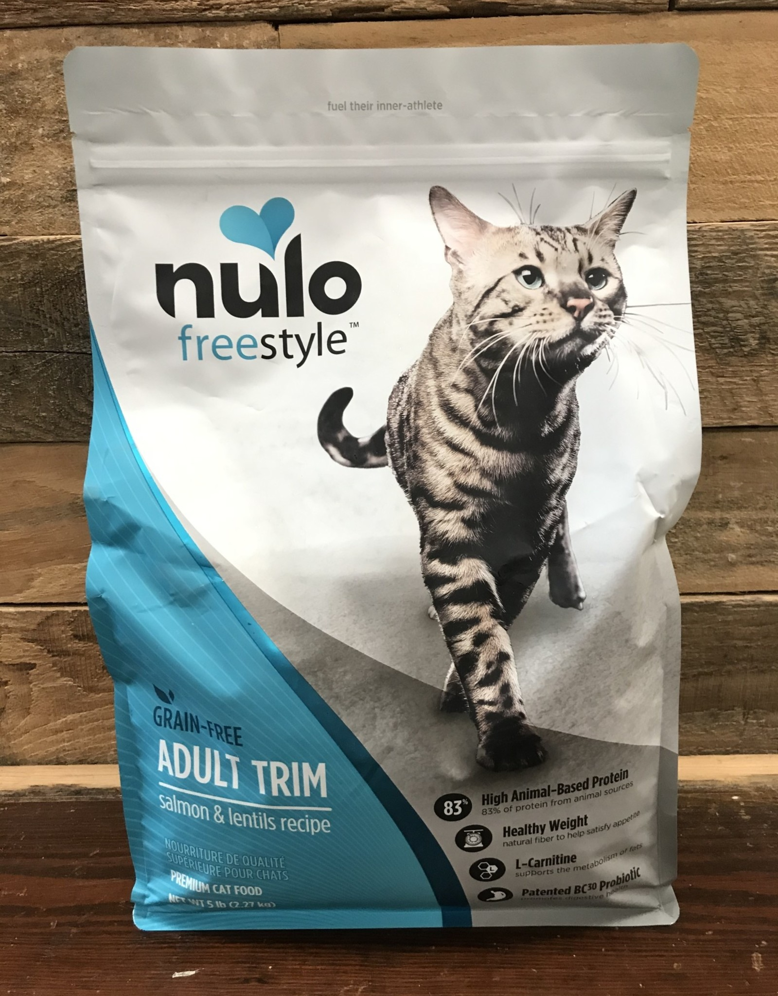 Nulo Nulo FreeStyle 5# Grain Free Adult Cat Trim Salmon & Lentils