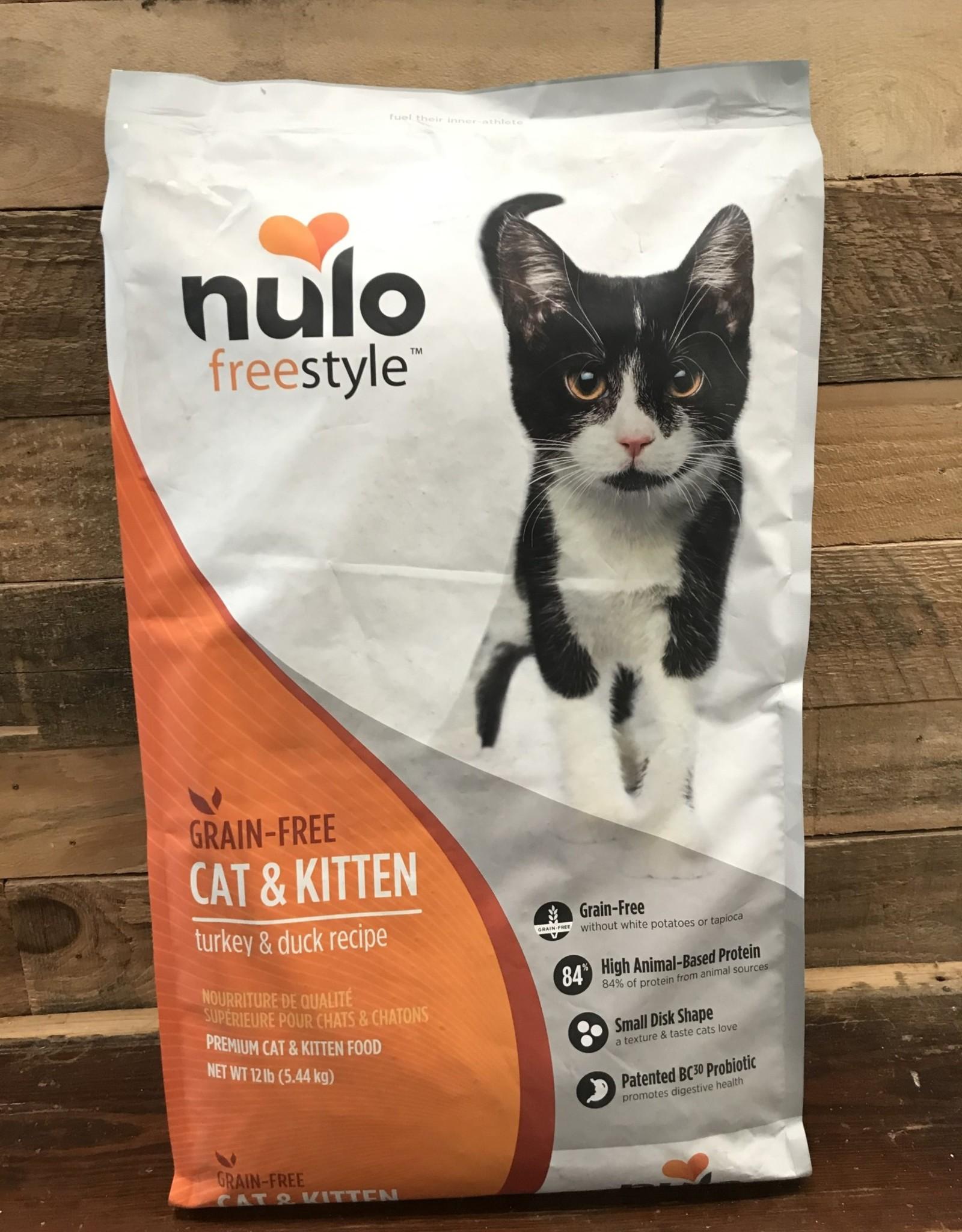 Nulo Nulo FreeStyle 12# Grain Free Cat & Kitten Turkey & Duck